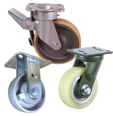 Fabricated Steel Castors