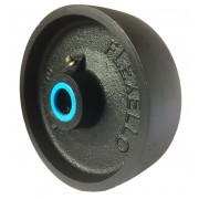 150mm Cast Iron Wheel, 1180kg Load Capacity
