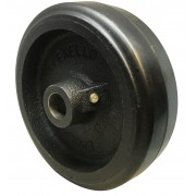 150mm Rubber Tyred Wheel, 400kg Load Capacity