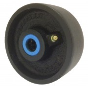 100mm Cast Iron Wheel, 450kg Load Capacity