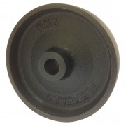 150mm Flexello Cast Iron Wheel, 20mm Plain Bore, 1180kg