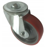 100mm Bolt Hole Swivel Castor, 140kg Load Capacity