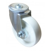 125mm Swivel Castor (BH), Nylon wheel, Roller Bearing, 150kg