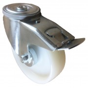 160mm Swivel Castor with Brake (BH), Nylon wheel, Roller Bearing, 200kg