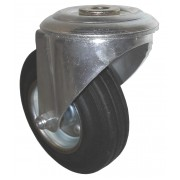 200mm Tente (BH) Swivel Castor Rubber Tyre Wheel, Roller Bearing, 200kg