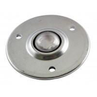 25.4mm Stainless Steel Ball Transfer Unit, 60kg Load Capacity
