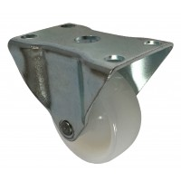 50mm Top Plate Fixed Castor, 40kg Load Capacity