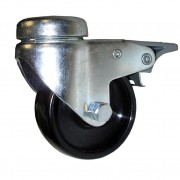 60mm Swivel Castor with Brake (BH), Polypropylene wheel, 50kg