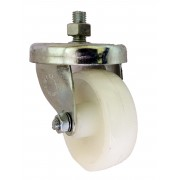 63mm Swivel Castor ,Nylon wheel, Plain Bore, 122kg