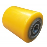 82mmx100mm Polyurethane Tyre Pallet Roller With Bearing, 900kg