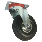 260mm Swivel Castor with Pneumatic Wheel, 150mm Load Capacity