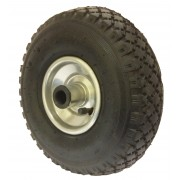 260mm Pneumatic Tyre / Metal Centre Wheel, 20mm Roller Bearing, 150kg