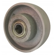 125mm Cast Iron Wheel, 20mm Ball bearing, 500kg