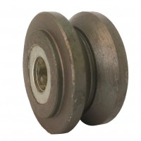 75mm Cast Iron Wheel (V-Groove), 19mm Roller Bearing, 205kg