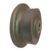 100mm Flanged Cast Iron Wheel, 20mm Ball bearing, 250kg