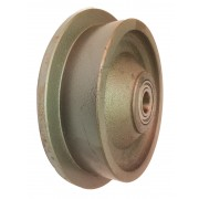 150mm Cast Iron Wheel, 20mm Ball bearing, 900kg