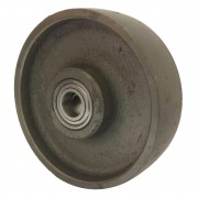 150mm Cast Iron Wheel, 20mm Ball bearing, 910kg