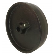 200mm Cast Iron Castor Wheel with 20mm Plain Bore, 1150kg Load Capacity
