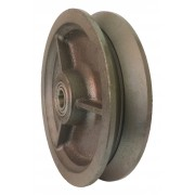 200mm Cast Iron Wheel, 20mm Ball bearing, 910kg
