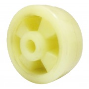 100mm Nylon Wheel, 15mm Plain Bore, 350kg