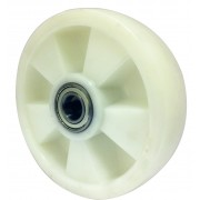 200mm Nylon Wheel, 25mm Ball bearing, 1200kg