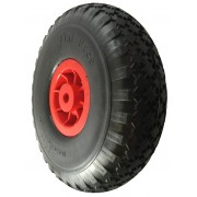 300mm Puncture Proof Wheelbarrow Wheel, 16mm Plain Bore , 150kg rating