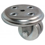 50mm Swivel Castor (Plate),Steel wheel, Plain Bore, 270kg
