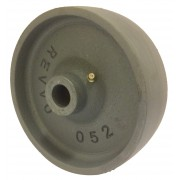 150mm Cast Iron Wheel, 20mm Plain Bore, 1000kg