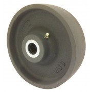 150mm Cast Iron Wheel, Roller Bearing,  1000kg Load Capacity