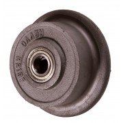 150mm Revvo Cast Iron Wheel, 20mm Ball Bearing, 1000kg