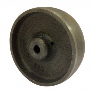 100mm Revvo Cast Iron Wheel, 12mm Plain Bore, 250kg
