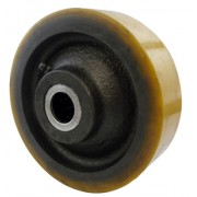 100mm Revvo Polyurethane Tyre Wheel, 20mm Roller Bearing, 340kg