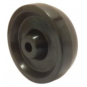 100mm Phenolic Resin Wheel, 12mm Plain Bore, 125kg