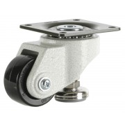 50mm Swivel Castor Heavy Duty with Adjustable Foot, 150kg Load Rating