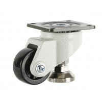 63mm Swivel Castor Extra Heavy Duty with Adjustable Foot, 500kg Load Rating
