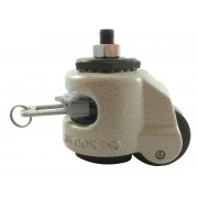 63mm Footmaster Levelling Castor Stem Fitting (Ratchet Operated), 250kg Load Capacity